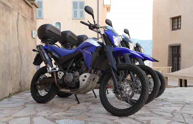 Yamaha Enduro 660cc XTR Black